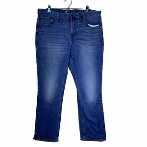 Old Navy Straight Built In Flex Jeans 38X30